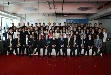 EMC在华投资增至十亿美元研发中心落户北京