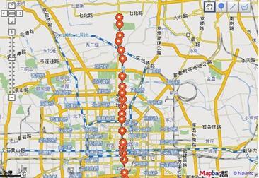 地铁5号线已通车 MapBar助你玩转线路图片