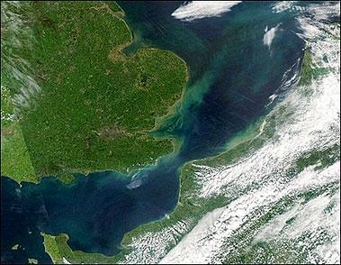 研究称超级洪水冲刷出英吉利海峡使英国变岛国