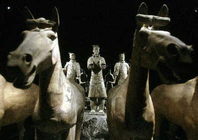秦始皇陵兵马俑