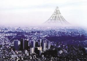摩天巨塔将在日本建成