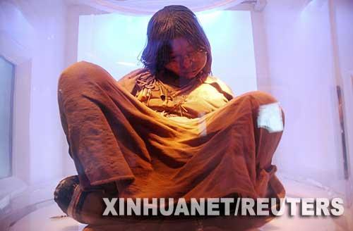 印加少女干尸500年后宛若活人(组图)