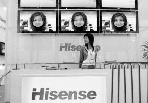 海信建成国内首条液晶模组生产线