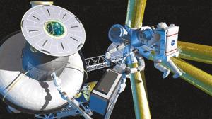 详解美国宇航局月球基地新计划(组图)