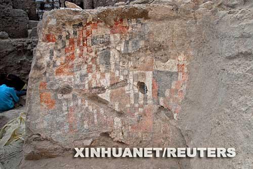 叙利亚发现世界上最古老壁画(组图)