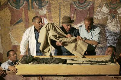 埃及少年法老图坦卡蒙真容首次公开