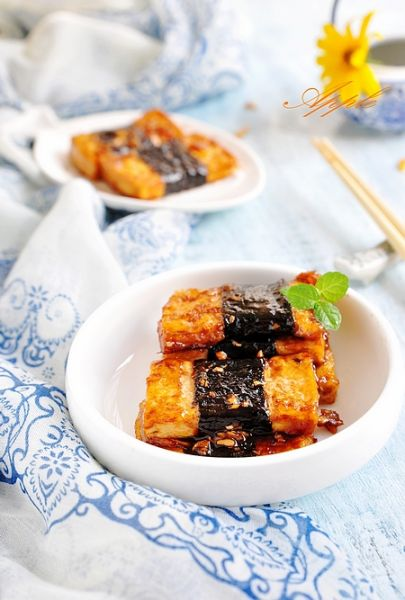 照烧海苔豆腐