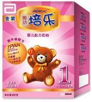 雅培金装培乐1婴儿配方奶粉400g(0-6个月)