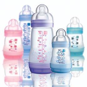 MAM防胀气奶瓶