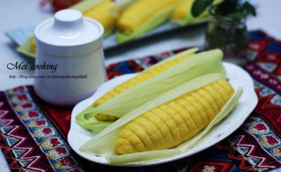 粗粮细做好味道——玉米棒包
