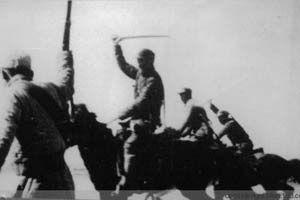 中日骑兵之间的几次决死之战