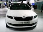 视频:斯柯达VISION D概念车亮相2011上海车展
