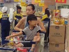网曝董洁五岁儿子近照