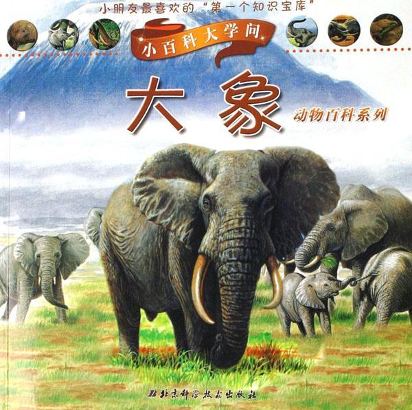 大象/动物百科系列/小百科大学问