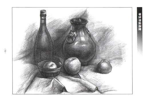华艺画室 基础素描苹果画法q 284418191图片