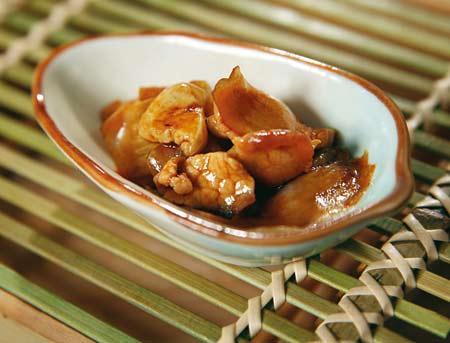 健康家常菜—肉片面筋炒白菜(三人份) - 依恋 - 健康乐园