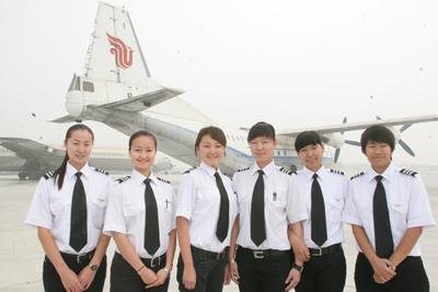 中国女飞行员视频