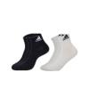阿迪达斯训练运动袜三双装-标准款