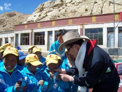 国家体育总局训练局携蒙牛等援建西藏希望学校