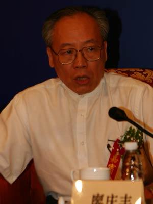 图文:微软大中国区副总裁寥庆丰在热点对话中发言