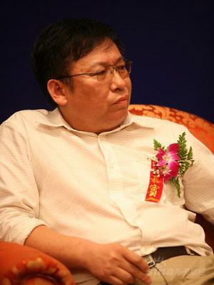 图文:天津国华盘山公司总经理赵岫华在发言
