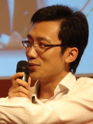 图文:艾瑞咨询集团公司总裁杨伟庆