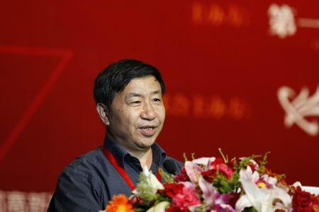 图文:中国电子学会秘书长刘汝林致辞
