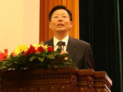 图文:科技部党组书记国家科技部副部长李学勇