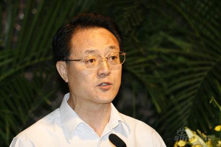 图文:中国中化集团公司副总裁潘正义发言