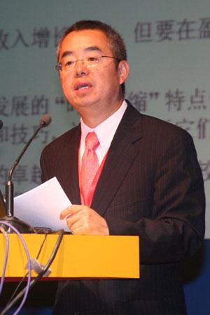 图文:埃森哲大中华区副总裁王波