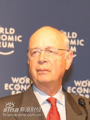 图文:世界经济论坛主席克劳兹-施瓦布