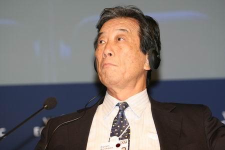 图文:日本内阁办公室首相科技顾问KiyoshiKurokawa