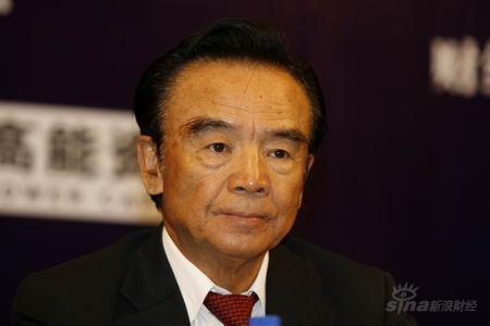 图文:中国证监会首任主席刘鸿儒致辞