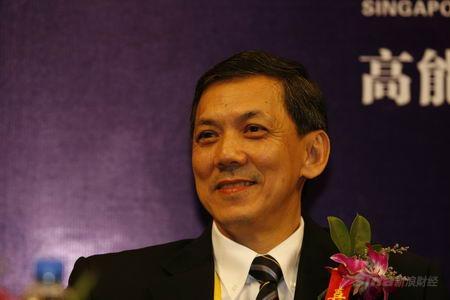 图文:新加坡管理大学李光前商学院院长许自秋