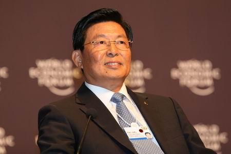 图文:中远香港集团总裁魏家福参加会议