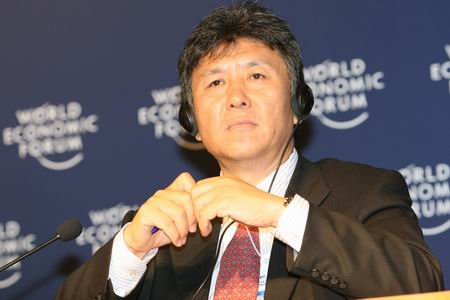 图文:东软集团董事长兼首席执行官刘积仁