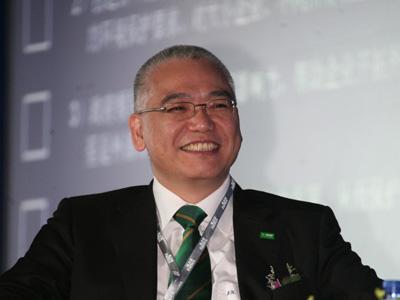 图文:巴斯夫大中华区董事长关志华