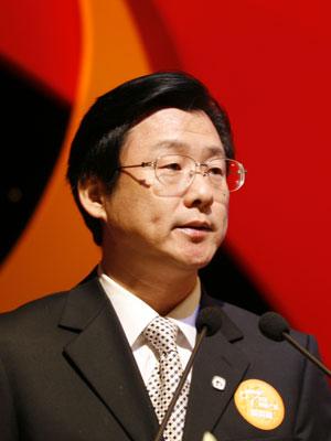 图文:北京市朝阳区副书记张洋先生致词