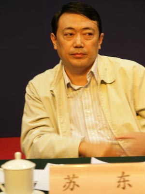 图文:北京市西城区副区长苏东