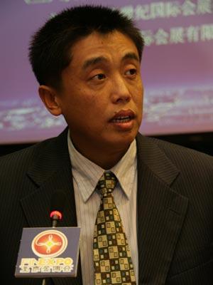 图文:北京金博会新闻发言人武凯