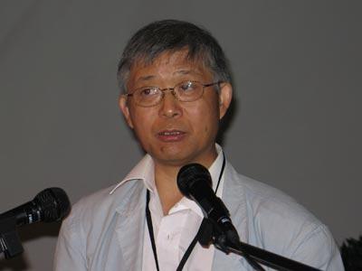 图文:欧华学会秘书长中欧论坛创始人陈彦