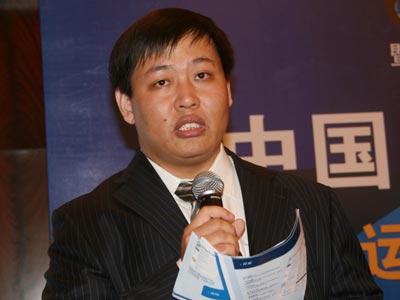 图文:环球企业家杂志执行主编杨福闭幕致辞