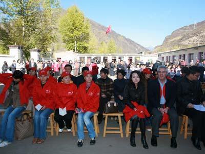 2007年红粉笔乡村教育计划迎来了体育冠军