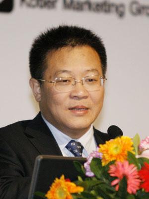 图文:苏宁电器股份有限公司总裁孙为民