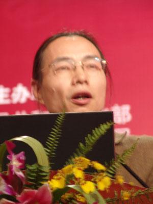 第二届文博会获奖者吴扬文发表感言