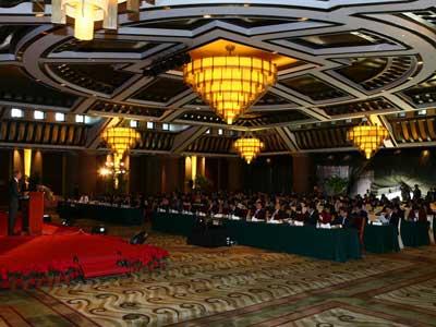首届中国创意财富高峰论坛大会现场