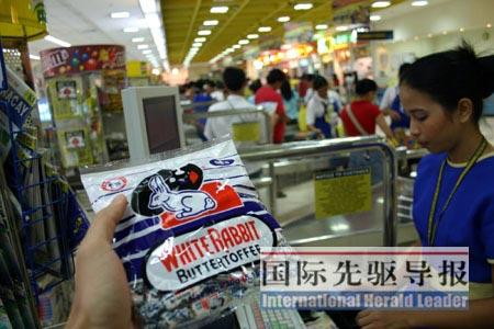 菲律宾封杀大白兔奶糖幕后:当局拒提供检测报告