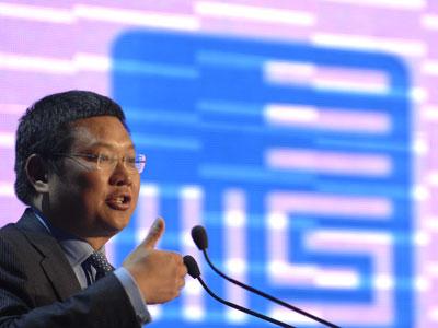 图文:长江商学院院长项兵演讲