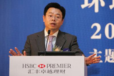 图文:汇丰银行财富管理销售中国区主管蔡伟成