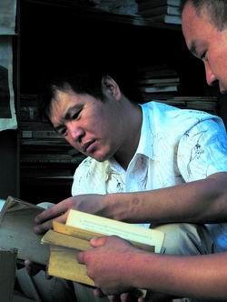 杜国立:旧书堆里掘金